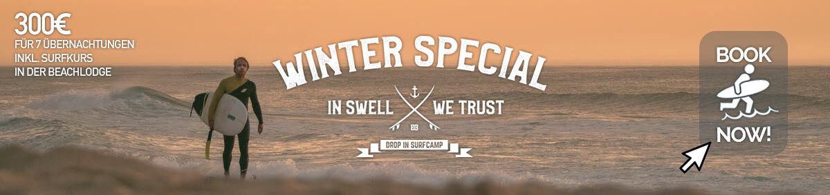 Drop in Surfcamp Winter